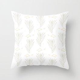 White Willow Throw Pillow