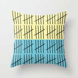 Counting to 100 Throw Pillow