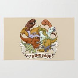 I Heart Dinosaurs Rug