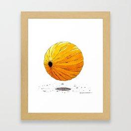 Une graine Framed Art Print