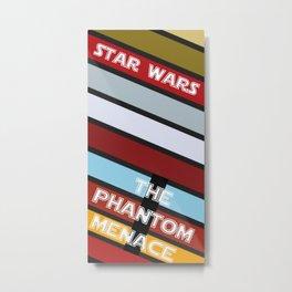 The Phantom Menace Metal Print