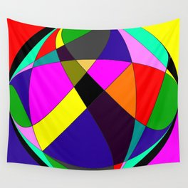 Crossing Cirlcles Wall Tapestry
