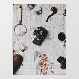 My Travels (Color) Poster
