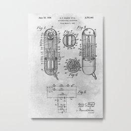 Unidirectional microphone Metal Print