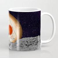 alone Mugs featuring Alone by Cs025