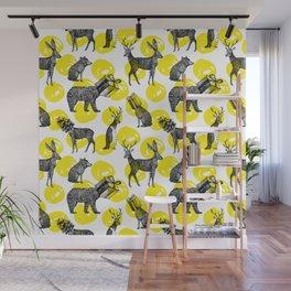 half animals pattern Wall Mural