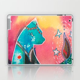 Super Cat - fantastic animal - by LiliFlore Laptop & iPad Skin