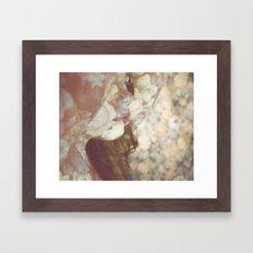 Flower Skin Framed Art Print