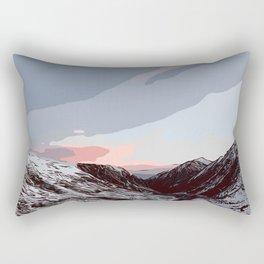 Beautiful sunrise in Andorra Rectangular Pillow
