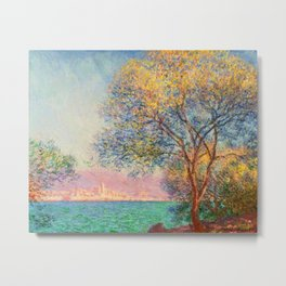 Antibes in the Morning by Claude Monet in 1888 Metal Print