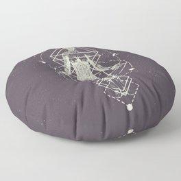 Sacred Geometry (Divine Feminine) Floor Pillow