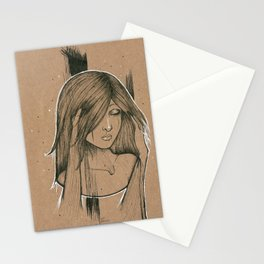 Sadness Stationery Cards