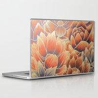 lotus flower Laptop & iPad Skins featuring Lotus by Jess Moore
