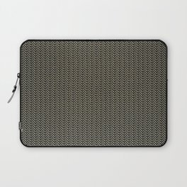 Faux Chainmail over Canvas Laptop Sleeve