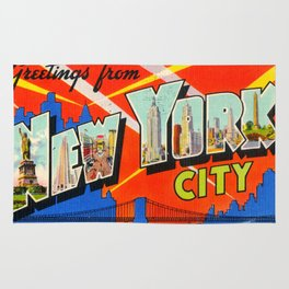 Greetings From New York City Rug
