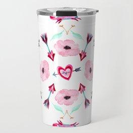 Love Mandala Travel Mug