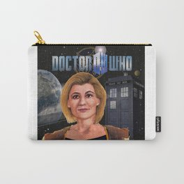 13th Doctor poster Carry-All Pouch