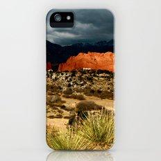 Storm Brewing - Garden of The Gods iPhone (5, 5s) Slim Case