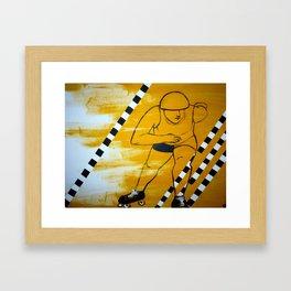 Bronx Gridlock Framed Art Print