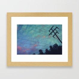 Studio City Nights Framed Art Print