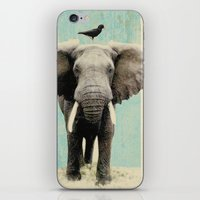 minimalist iPhone & iPod Skins featuring friends for life  by Vin Zzep