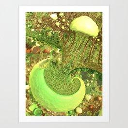 Agaricalia Art Print