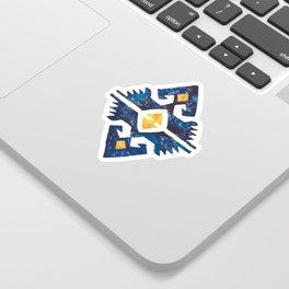Thunderbird Kilim Watercolor Sticker