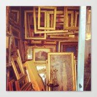 frames Canvas Prints featuring Frames by SarahS