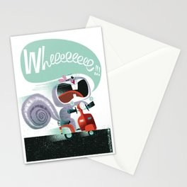 Wheeeeeee!!! Stationery Cards