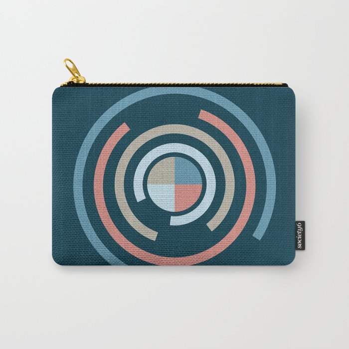 Colorful Circles V Carry-All Pouch