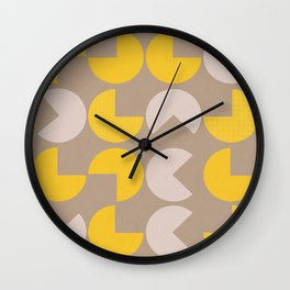 Fortune cookie pattern Wall Clock