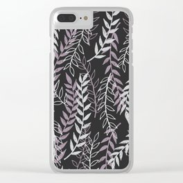 Leafage Clear iPhone Case
