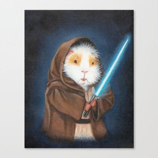 Jedi Guinea Pig Canvas Print