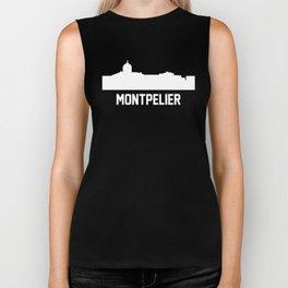 Montpelier Vermont Skyline Cityscape Biker Tank