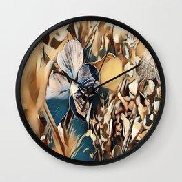 """Violet Fantasy"" Wall Clock"