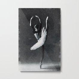 Dancing alone ... Metal Print