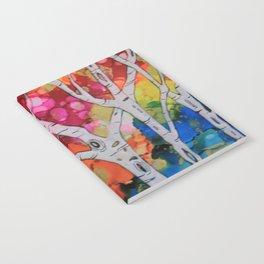 """Rainbow Birch Trees"" Notebook"