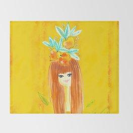 Tropical Girls - Stefani Throw Blanket