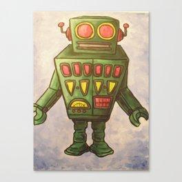 Robot Dream 2 Canvas Print