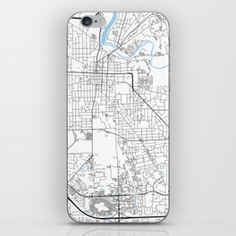 Ann Arbor, Michigan iPhone Skin