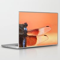 stained glass Laptop & iPad Skins featuring Stained Glass by Mark Alder