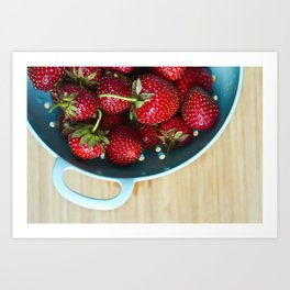 Freshest Berries Art Print