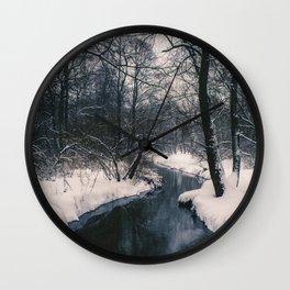 Almost frozen Wall Clock