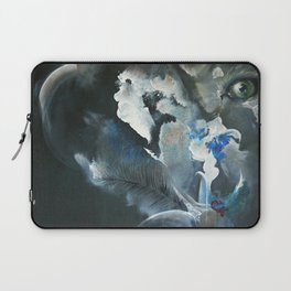 Wolf In Space Laptop Sleeve