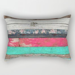 The Sounds of Times Rectangular Pillow