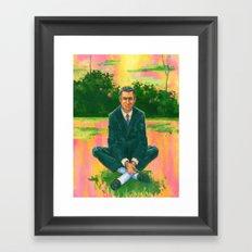 Cary Grant 1958, LSD Framed Art Print