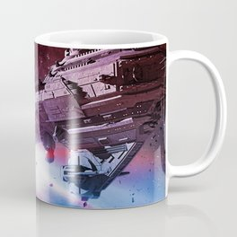 Better World Spaceship Coffee Mug