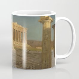 The Parthenon by Frederic Edwin Church Coffee Mug