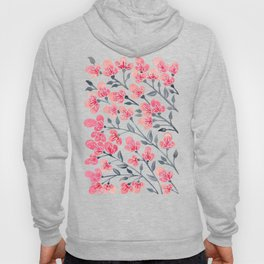Cherry Blossoms – Pink & Black Palette Hoody