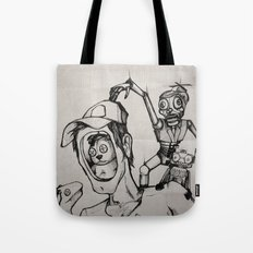 Imagination (sketch) Tote Bag